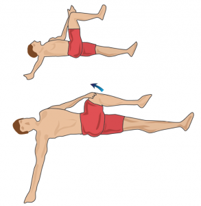 glute stretch  the importance of stretching your piriformis